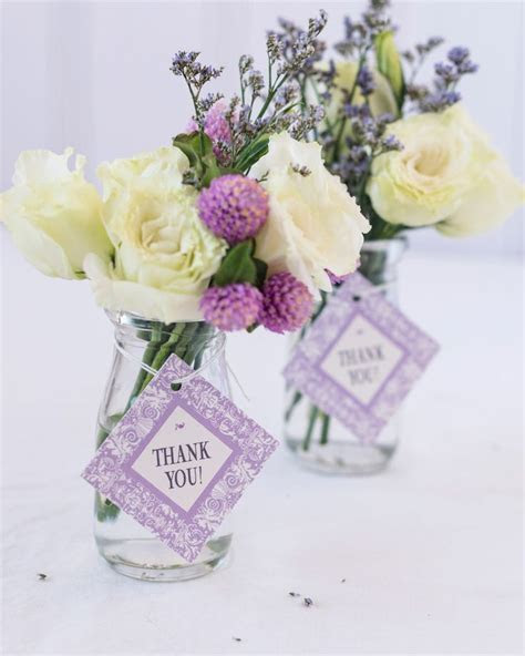 Personalized Diamond Wedding Favor Gift Tags   Anniversary