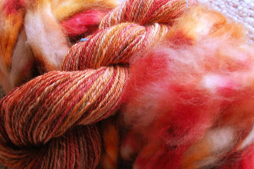 More handspun sock yarn