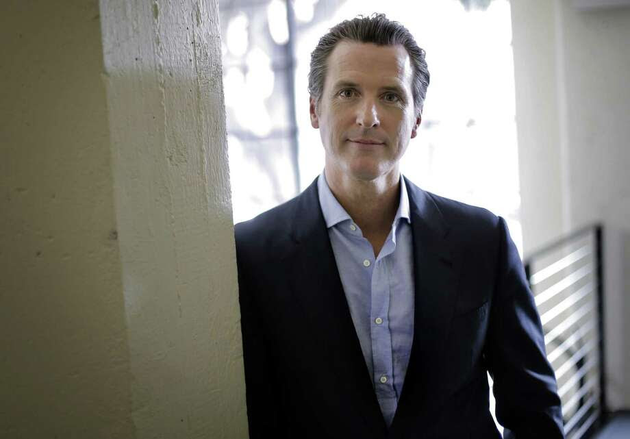 California Lt. Governor Gavin Newsom at Founders Den in July. Photo: Carlos Avila Gonzalez / Carlos Avila Gonzalez / The Chronicle / ONLINE_YES