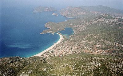 Olu Deniz from the air
