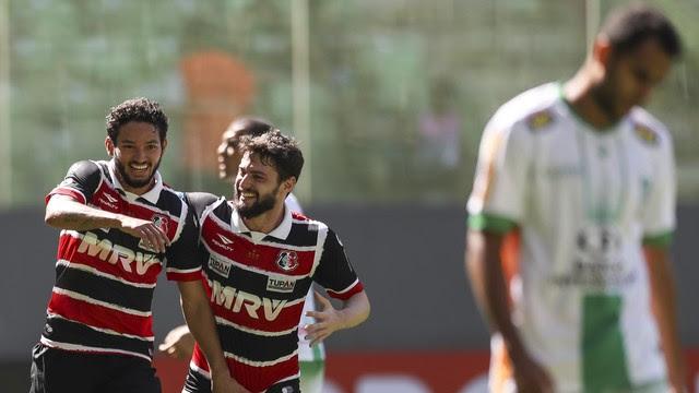 Resultado de imagem para Santa Cruz x América-MG 2016