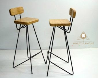 Model Kursi Cafe Kaki Besi Terbaru Miniuty Furniture
