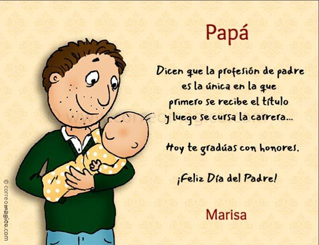 Tarjetas De Para Imprimir Gratis De Dia Del Padre En Casa O El