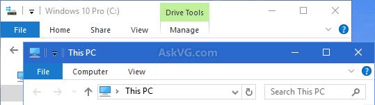 Tweak Colorization Settings for Titlebar, Taskbar and Start Menu in Windows 10 - AskVG