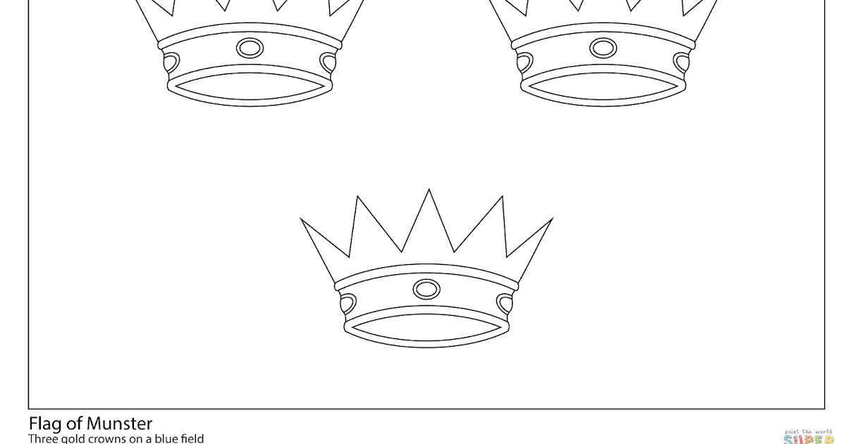 vlag curacao kleurplaat