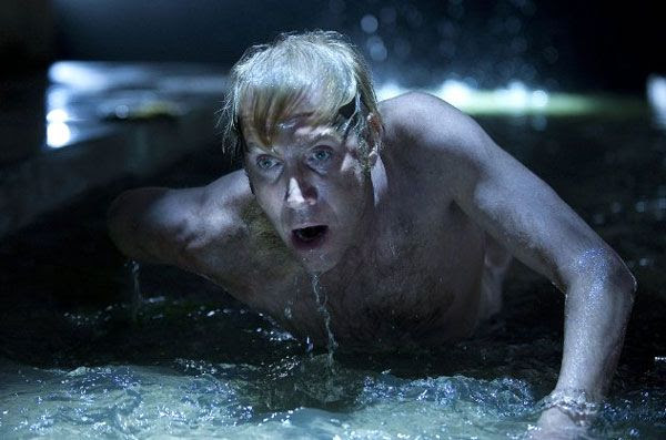 Dr. Curt Connors (Rhys Ifans) transforms into the Lizard in THE AMAZING SPIDER-MAN.