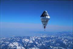 Der Ballon Orbiter 3