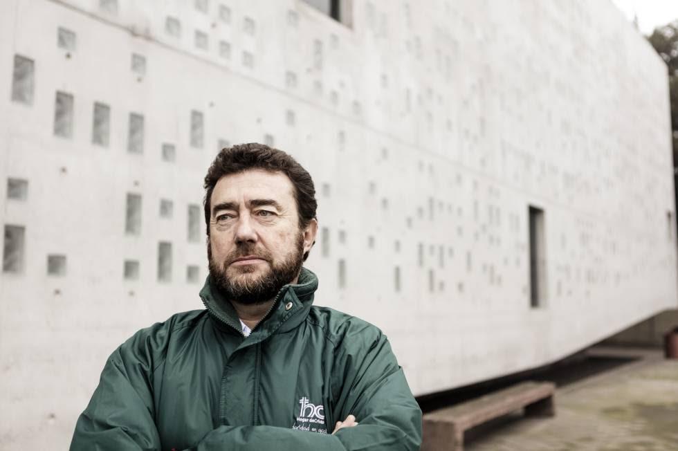 El director social del Hogar de Cristo], Paulo Egenau.