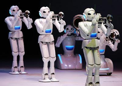 robots toyota trumpet trombone