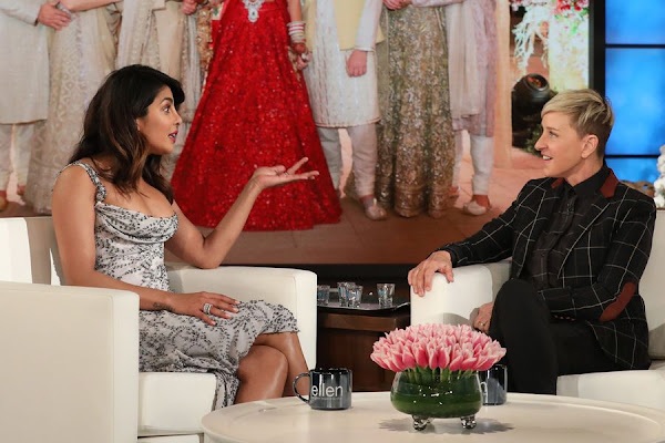 ce26738856 How Priyanka Chopra Responded When Ellen DeGeneres Called Her Out for Not  Inviting Her to the Wedding