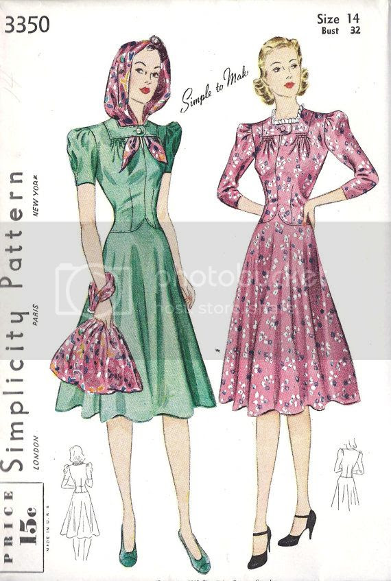 Chronically Vintage Forty Fantastic 1940s Sewing Patterns Under 40