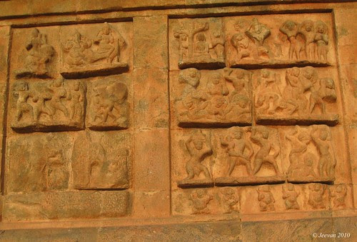 Carved sculptures