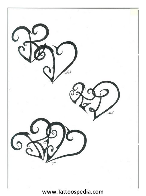 K Tattoo Designs 3