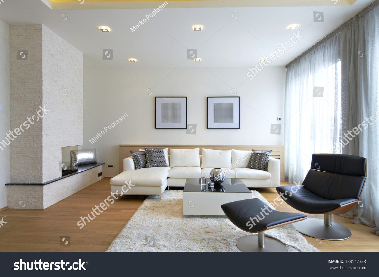 Modern Interior Design Stock Photos - Image: 8562883