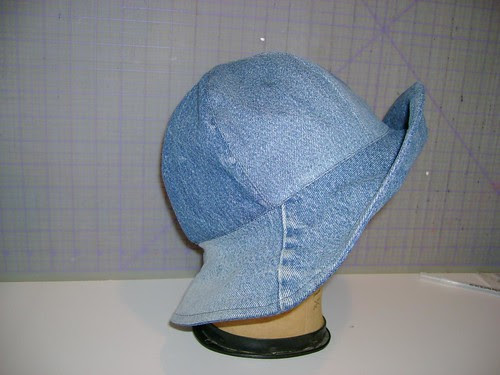 Christine's Fishin' Hat side view
