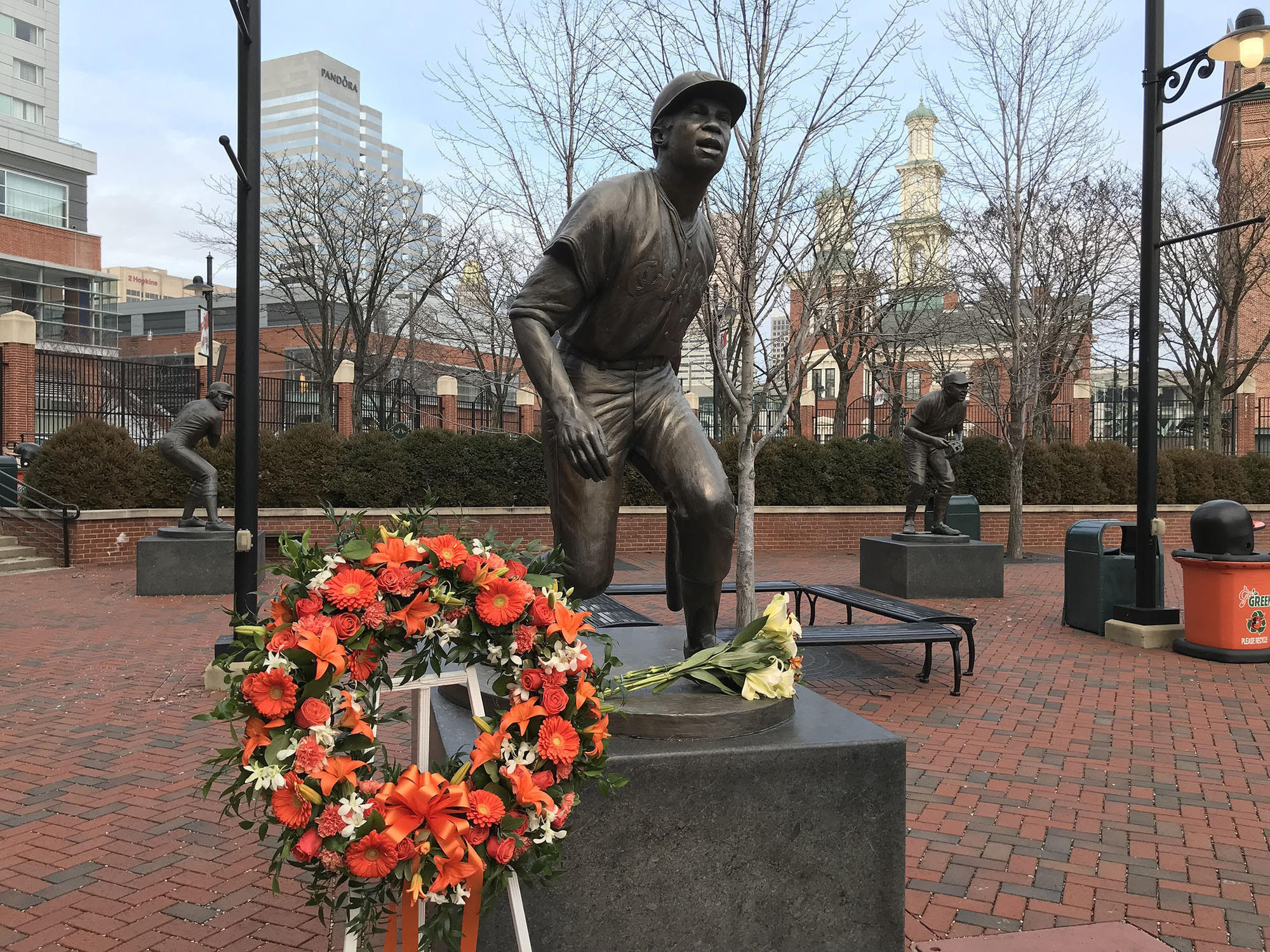 Image result for frank robinson statue baltimore