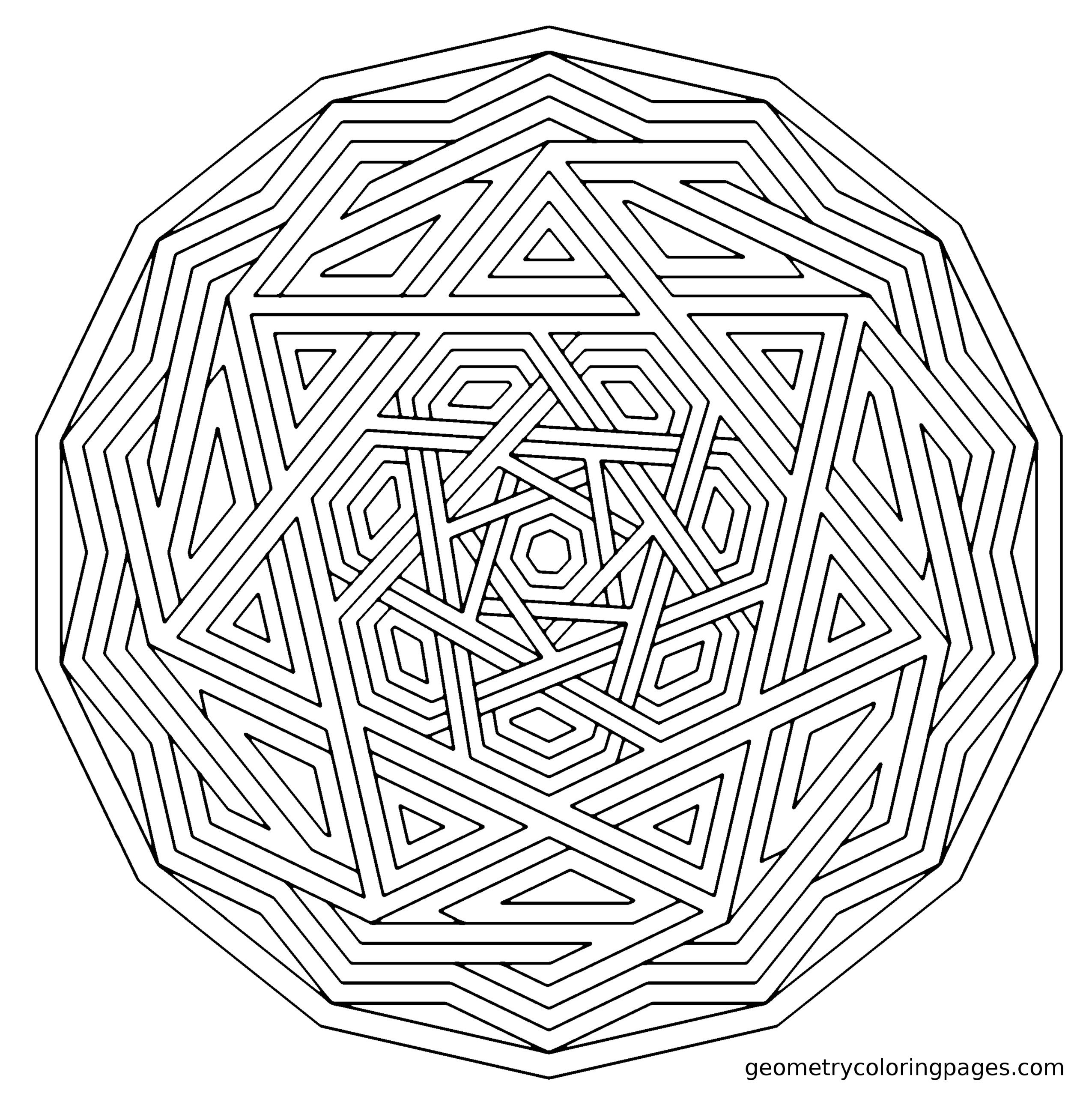 Coloring pages for anxiety. Level: complex : Anxiety