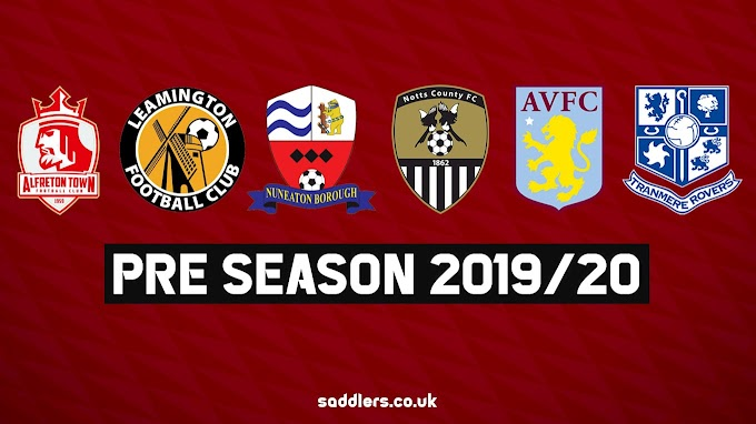 Pre-Season: Ticket Details For Walsall's Remaining Friendly Outings