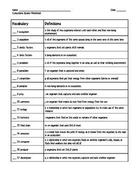 35 Ecology Worksheet High School - Worksheet Resource Plans