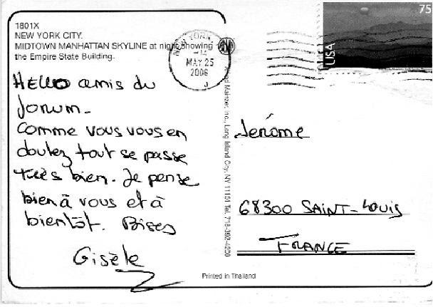 Texte Carte Postale Vacances A La Mer - Exemple de Texte