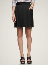 Gap Pocket pleated skirt