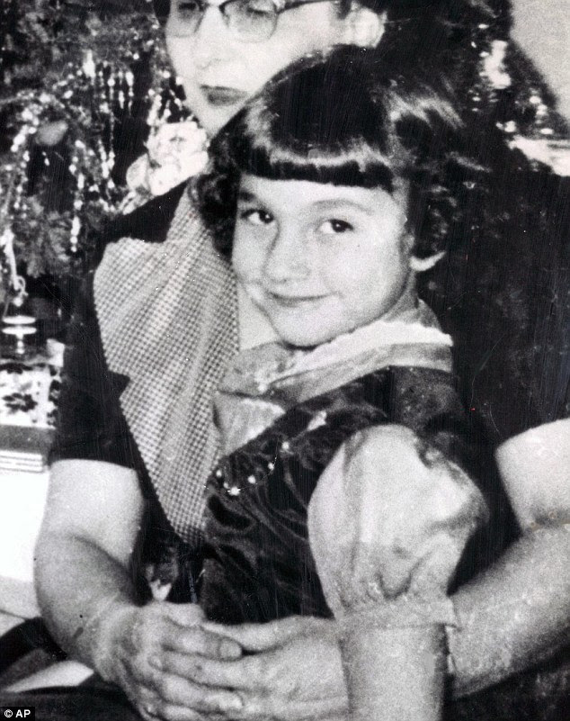 Closure: Jack McCullough has been convicted of kidnapping and killing Maria Ridulph in 1957, when she was just seven years old, putting to an end a 50 year cold case