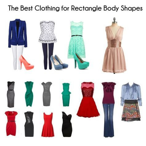 25  best ideas about Rectangle Body Shapes on Pinterest