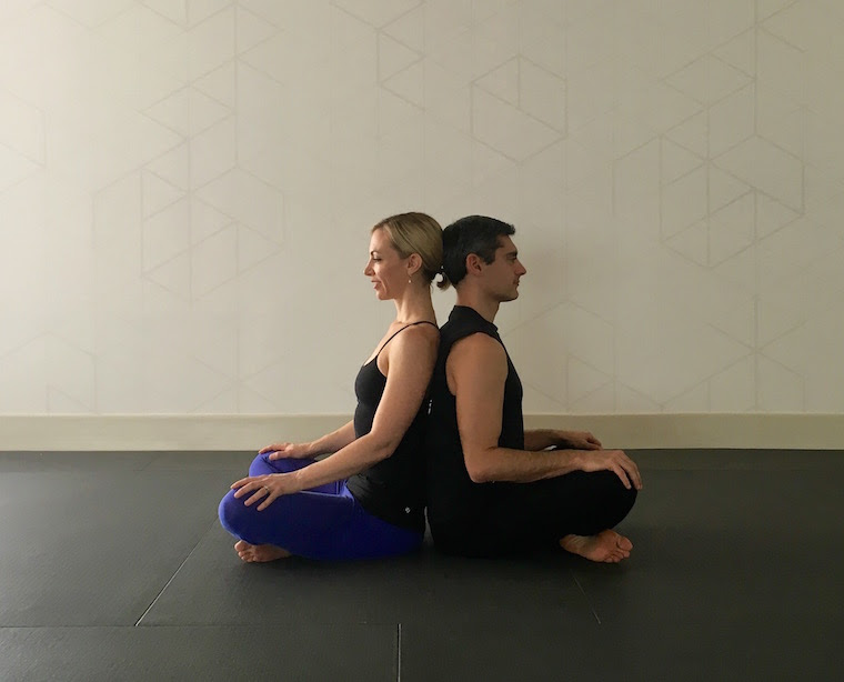 Beginner Easy Two Person Yoga Poses