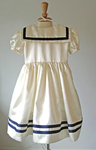 Sailor dress back