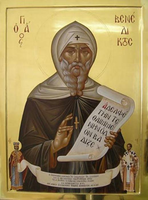 img ST. BENEDICT of Nursia, Hermit, Wonderworker