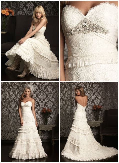 The perfect wedding dress for a Country Wedding, ideal for