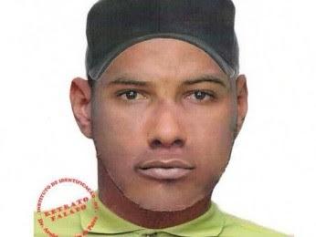 Polícia divulgou retrato falado do suspeito de estupro em MT e AM (Foto: Reprodução/ Polícia Civil-MT)