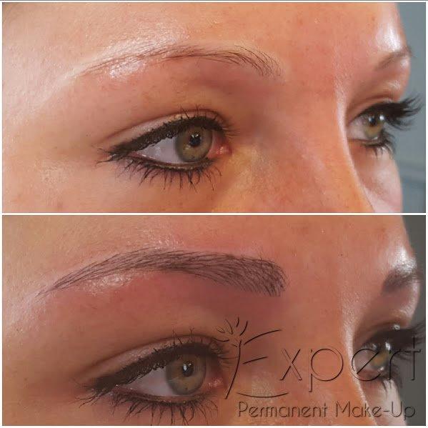 Permanent Make Up Augenbrauen In Berlin Bei Expert
