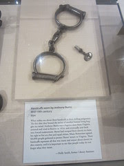 Handcuffs That a Slave Wore