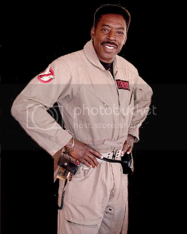 Ernie Hudson as 'Winston Zeddemore' from GHOSTBUSTERS [click to enlarge]