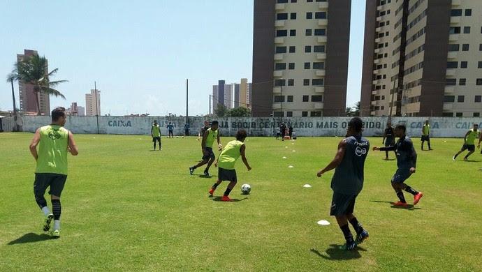 ABC - reapresentação CT Alberi Ferreira de Matos (Foto: Assessoria de Comunicação/ABC FC)