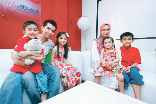 Keluarga Irfan Khairi
