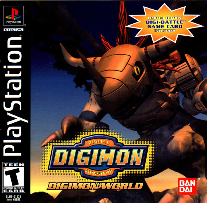 Download Digimon World PSX ISO