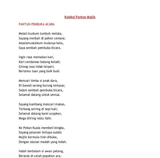 Contoh Pantun Penutup Pidato Lucu Bahasa Sunda