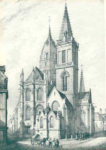 l'église Saint-Malo de Valognes par Maugendre