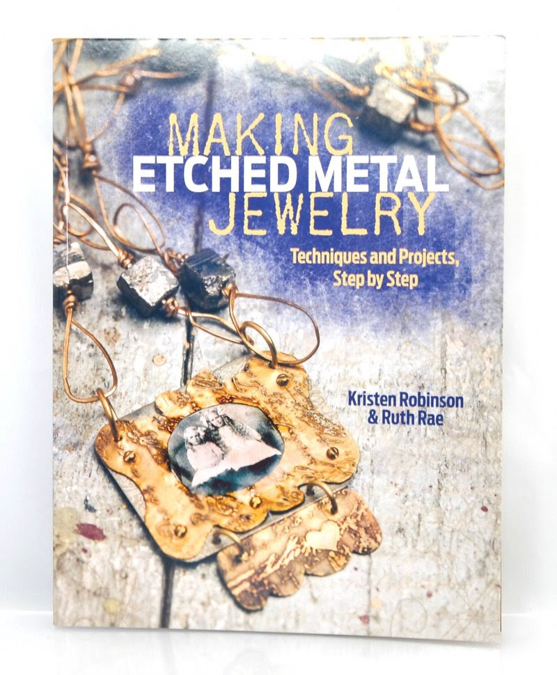 s41294 Book -  Making Etched Jewelry - by Kristen Robinson and Ruth Rae