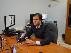 Juiz da 2ª Vara Cível da Comarca de Cacoal, Audarzean Santana da Silva (Foto: Fernanda Bonilha/G1)
