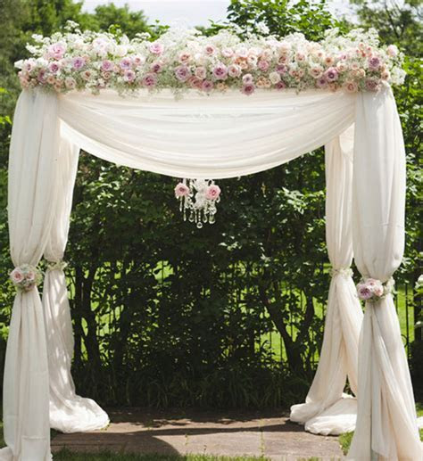 Indoor Wedding Ceremony Elegant Arch Decorations Archives