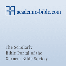 academic-bible.com - The Scholarly Bible Portal of the German Bible Society.