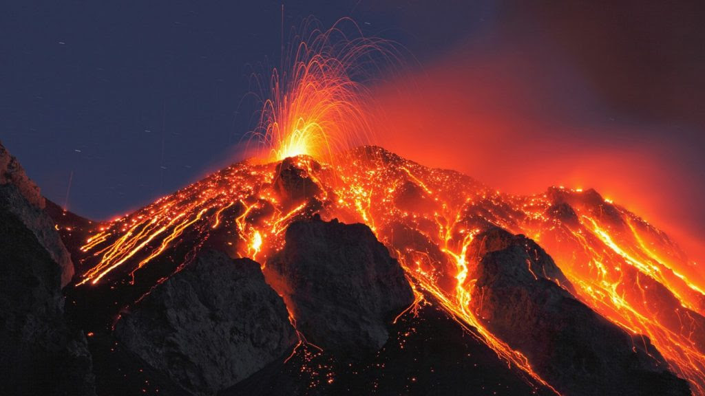 Image result for Stromboli volcano