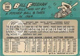 #390 Bill Freehan (back)