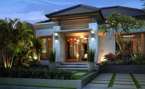 77 Desain Taman Depan Rumah Klasik Terbaru