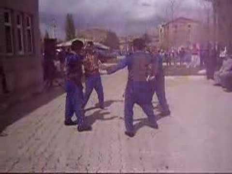 Bozkır Kaşık Ekibi Bozkır Belediyesi Önü Gösterileri