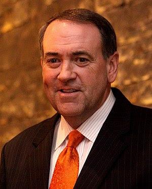 English: Former Governor of Arkansas Mike Huck...