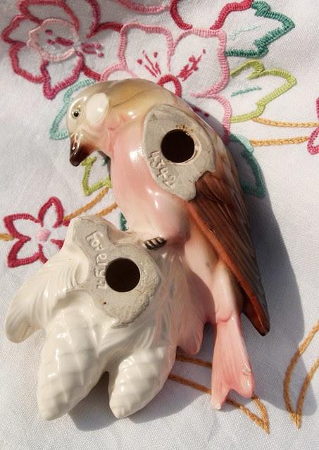 Ceramic Parrot - back